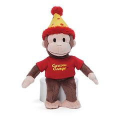 Curious George GUND Birthday Stuffed Animal Plush Curious... http://www.amazon.com/dp/B00ZSI6OGI/ref=cm_sw_r_pi_dp_mgukxb0GHJR50