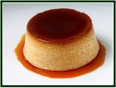 Flan (Cuban Style Custard) - Cuban Recipes - Uses Evaporated Milk and Sweetened Condensed Milk.