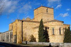 La Basilica de San Vicente, Ávila, España (románica)