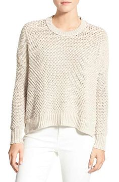 Madewell 'Thea' Seed Stitch Pullover