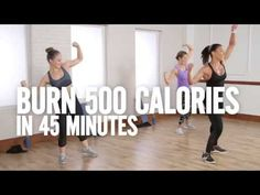 Burn 500 Calories in 45 Minutes With This Cardio and Sculpting Workout Class FitSugar - YouTube