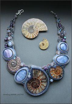 Украшения ручной работы от ANNA LAZAR: Neptune