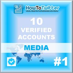 10 Newly Verified Tw