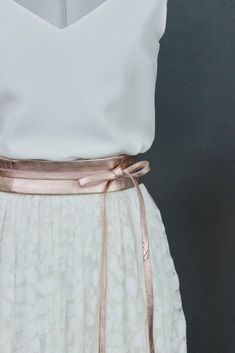noni | Braut Rock mit Spitze im Boho Stil - Delphine #hochzeit #rosegold
