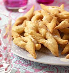 Bugnes lyonnaises (Mardi-Gras), la recette d'Ôdélices : retrouvez les ingrédients, la préparation, des recettes similaires et des photos qui donnent envie !