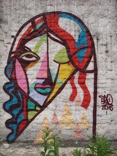 Female Street Art, PaulistAnna Pinterest #graffiti #sia #StreetIAm - http://streetiam.com/paulistannas/