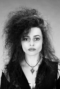 Helena Bonham Carter as Bellatrix in Harry Potter
