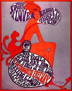 Tour our online museum of Vintage Rock Concert Posters. Learn about the psychedelic poster artists and read the story behind each concert poster. Psychedelic Rock, Psychedelic Typography, Psychedelic Posters, Hippie Posters, Poster Art, Retro Poster, Kunst Poster, Rock Posters, Band Posters