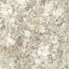 48 in. x 96 in. Laminate Sheet in Spring Carnival Quarry, White Chocolate And Creamy Brown Accented With Grey Tones In This Elegant White Brazilian Granite