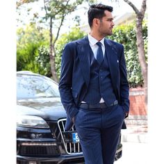 Double Breasted Suit, Diana, Suit Jacket, Audi, Actors, Formal, Fashion Suits, Mens Fashion, Jackets