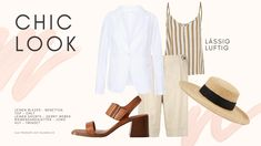 Wie man die Farbe Weiss im Sommer 2020 trägt, zeige ich dir im Lookbook, das ich für dich erstellt habe. Marine Look, Trends, Stylish, Polyvore, Fashion, Photo Library, Psychology Of Colour, Summer, Moda