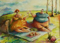 rysunek, pastele,para, ilustracja, scenka rodzajowa Painting, Stop It, Painting Art, Paintings, Painted Canvas, Drawings