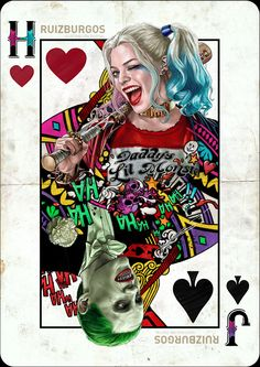 SUICIDE SQUAD - HARLEY and JOKER by RUIZBURGOS on DeviantArt