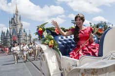 Disney welcomed their newest princess yesterday (August 11, 2016) in a celebration at Magic Kingdom. Take a peek at the video below to see the Royal Welcome
