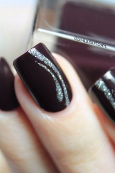 #liloonailart Vernis Guill d'or nailangel                                                                                                                                                                                 Plus