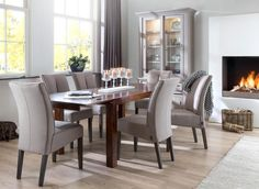 Madisonate cabinet & Cape Cod table & Milou chair - Henders & Hazel