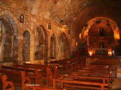 inside monestary | More inside view - Monastery of Saint Anthony in Kozhaya