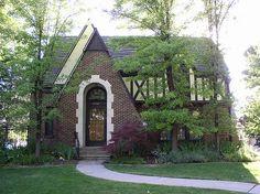 1920-1930s english tudor cottage