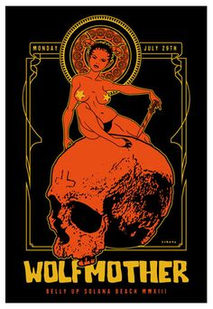 Gig posters, flyers and handbills from around the world! Stoner Rock, Tour Posters, Band Posters, Music Posters, Retro Posters, Music Artwork, Art Music, Arte Zombie, Art Hippie