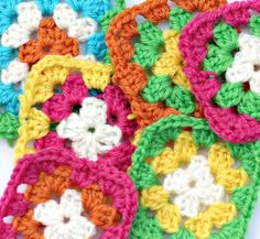 Granny square eye candy