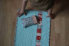 crazy mom quilts: doll bedding tutorial