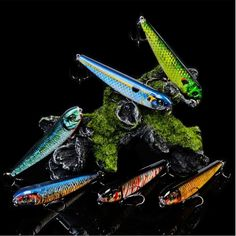 1pcs 9cm 8.5g  Pencil Fishing Lure 6# Top water Wobbler Artificial Hard Bait High Quality ABS Model Fishing Tackle Pesca