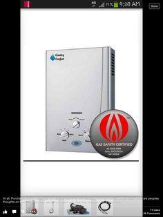 Caravan Water Heater Instant Water Heater, Caravan Ideas, Tankless Water Heating