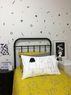 Wall decals and stickers, ARt Prints and Pillowcases for your home – One Hundred Percent Heart
