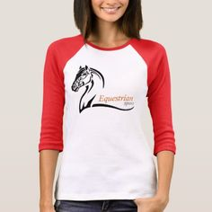 equestrian sport T-Shirt - logo gifts art unique customize personalize