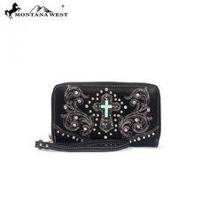 Montana West Spiritual Collection Cross Wristlet Wallet – Handbag Addict.com