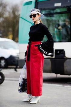 Paris Fashion Week Street Style Fall 2018