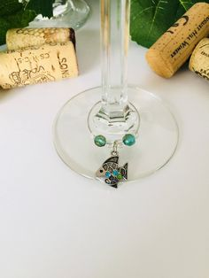 A personal favorite from my Etsy shop https://www.etsy.com/listing/556321334/starfish-wine-glass-charms-fish-charm