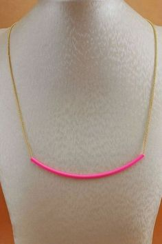 The necklace made of alloy, featuring fluorescence design, chain to main. It makes you become the most fashion one.$10