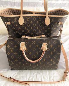Classic LV Collection for Louis Vuitton Handbags #Louis #Vuitton#Handbags, Must have it!!! LV Neverfull Bag & Speedy Bag.