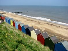 Mundesley beach, Norfolk Used to have summer holidays here!