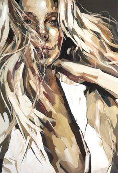"""Artist: Anna Bocek; Oil 2014 Painting """"Morning"""""""