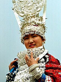 To the Miao people in China, silver wards off evil spirits.