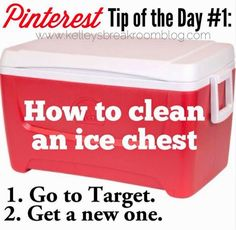 Pinterest Tips On How To Take Care of Everything Around Your House In 2Very Simple Steps | Kelley's Break Room