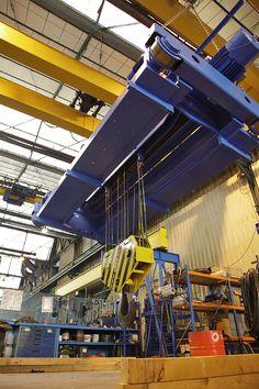 BILFAL Project in Saudi Arabia Double-girder gantry kit 100 + 50t. GH Cranes & Components