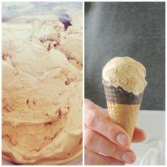 Irish Coffee Ice Cream: Use as a base for homemade Dublin Mudslide? Easy Ice Cream Recipe, Homemade Ice Cream, Ice Cream Recipes, Frozen Desserts, Frozen Treats, Irish Coffee, Irish Whiskey, Sorbet Ice Cream, Coffee Ice Cream