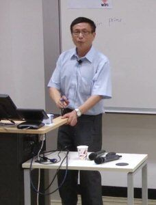 Yitang Zhang lectures on Small Gaps Between Prime Numbers  http://video.ust.hk/Watch.aspx?Section=Channels&Channel=2&SubType=Lectures&View=Icon&Sort=Date&Page=1&Current=44&Mode=Play
