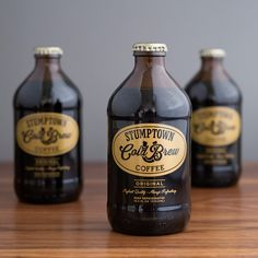 Stumptown Coffee Roasters Cold Brew - Identity Rebrand and Packaging Redesign