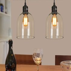 Shop for (In Stock) Dome Shape Clear Glass LOFT Mini Pendant Light(Salty Coffee) at Homelava.com with the lowest price and top service!