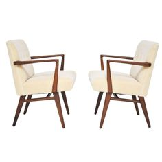 Jens Risom Arm Chairs   From a unique collection of antique and modern armchairs at http://www.1stdibs.com/furniture/seating/armchairs/