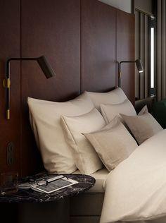 Hotel At Six Closet Bedroom, Dream Bedroom, Home Bedroom, Bedrooms, Six Hotel, Hotel King, Hotel Pillows, Bed Pillows, Hotel Mattress