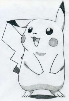 Pikachu / draw / easy / ideas