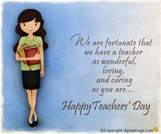 Dgreetings    Honor your teachers by sending them Teachers' Day greeting cards...