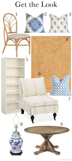 Get the Look: A Beach Chic Room by Carrier and Company http://paloma81.blogspot.com/2013/07/get-look-carrier-and-company.html
