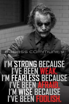 Most memorable quotes from Joker, a movie based on film. Find important Joker Quotes from film. Joker Quotes about who is the joker and why batman kill joker. Great Quotes, Quotes To Live By, Me Quotes, Motivational Quotes, Inspirational Quotes, Motivational Thoughts, Joker Frases, Joker Quotes, The Words