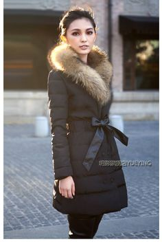 Wholesale New arrival hot sale fashion influx Blasting down padded winter warm fur wedding collar coat, Free shipping, $59.99/Piece | DHgate